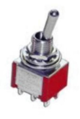 Gaugemaster GM505 A5 Mini-Toggle Switch DPDT C-off