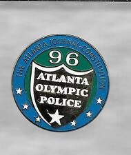 1996 Atlanta Journal Constitution Olympic Police Pin