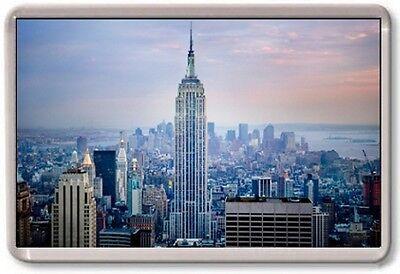 FRIDGE MAGNET - EMPIRE STATE BUILDING - Large Jumbo - USA New York