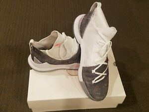 c45b119ea7c5 Under Armour Curry 5 Welcome Home White Size 12.5 3020657-107 Steph ...