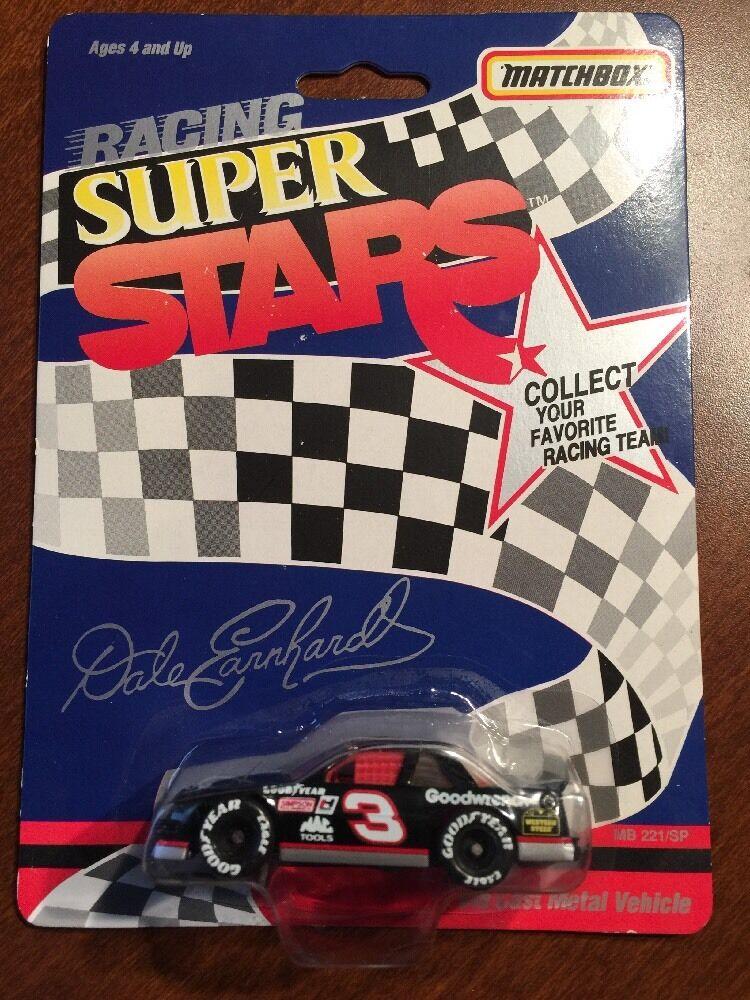 MATCHBOX RACING SUPER STARS  DALE EARNHARDT  NASCAR  MINT  No Wear abuse