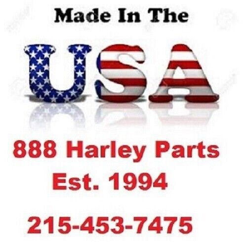 "Chrome Handlebar Riser Bolt Set 1//2-13 x 2 1//2/"" Course Thread 3450 USA Harley"