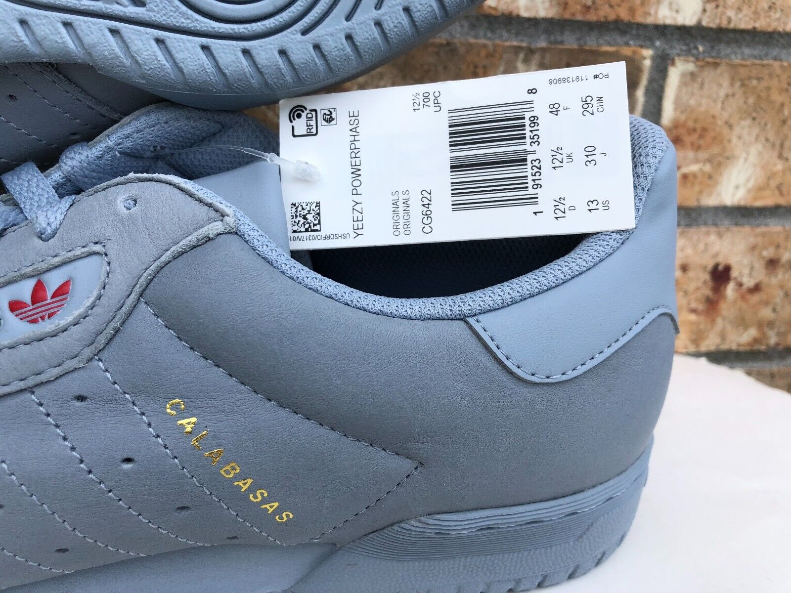 2fa1554a20711 adidas Mens Yeezy Powerphase Calabasas Grey Cg6422 13 for sale online