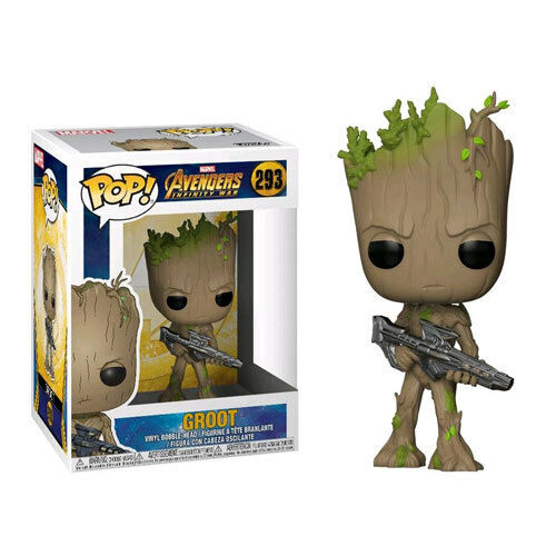 Avengers 3  Infinity War - Teen Groot with with Groot Gun Pop  Vinyl Figure NEW Funko 1f7ea0