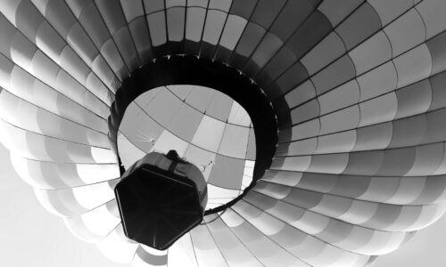 Canvas XXL Pop Art Hot Air Balloon Balloon Ride Deco Abstract Colourful 150x90