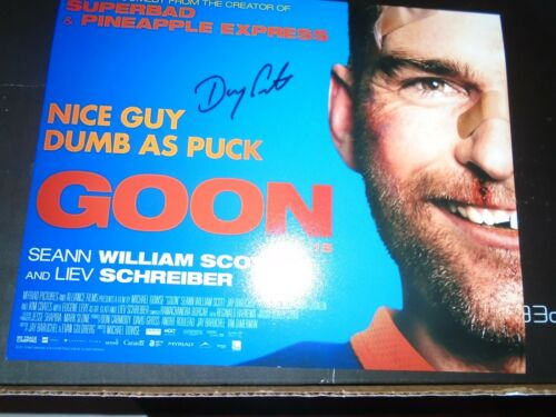 Halifax Highlanders Doug Glatt  Autographed Signed 8x10 Doug Smith Real Goon  #1