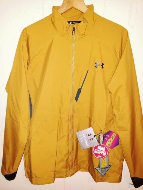 89a531a656cf Under Armour Coldgear Infrared Storm2 Wind Stopper Jacket Mens Large NWT   199.99