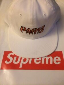 Supreme Paris 6-Panel Cap hat Stussy Palace Bape Nike X Patta Pablo ... c48cde779