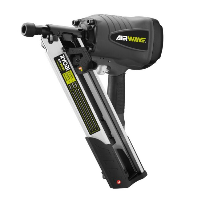 Ryobi Airwave Clipped Head Air Framing Nailer | eBay