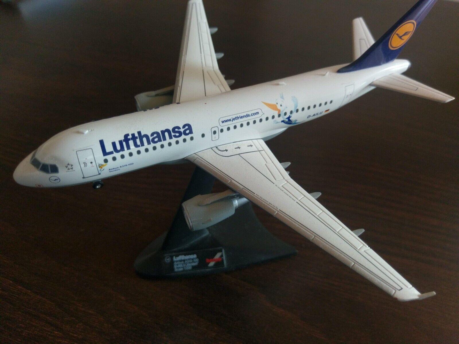 Entrega rápida y envío gratis en todos los pedidos. Lufthansa jetfriends airbus a319 -- como nuevo avión modelo -- -- -- scale 1 200 D-ailu  Precio por piso