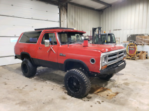 1986 dodge ramcharger- updated