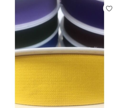 20 COLOURS BESTQUALITY WaistBand 20mm//30mm //40mm FLAT COLOURED Elastic WOVEN