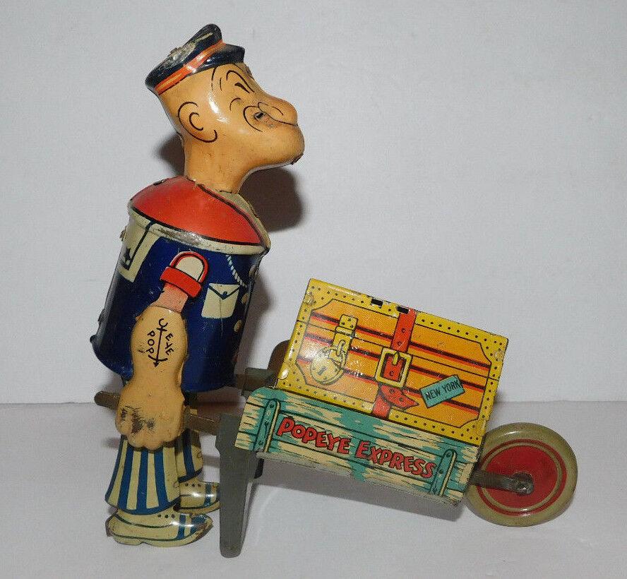7970bdf79d6 Ty Beanie Baby Gobbles - the Thanksgiving Turkey November 27 1996. VERY  NEAT VINTAGE TIN WIND UP MARX POPEYE EXPRESS