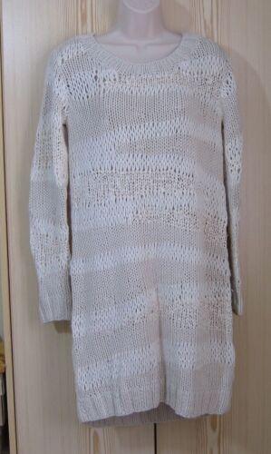 maglia a dimensione Allsaints Dress 10 gesso a 8 Uk lavorato di Bnwt Spitalfields Beatriz Cavalier mano WzwqHwYpX4
