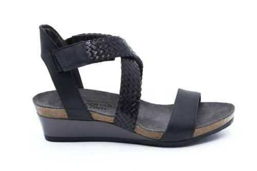Naot Cupid Women Shoes Sandals Leather Wedge Platform Open Toe Strap Strappy