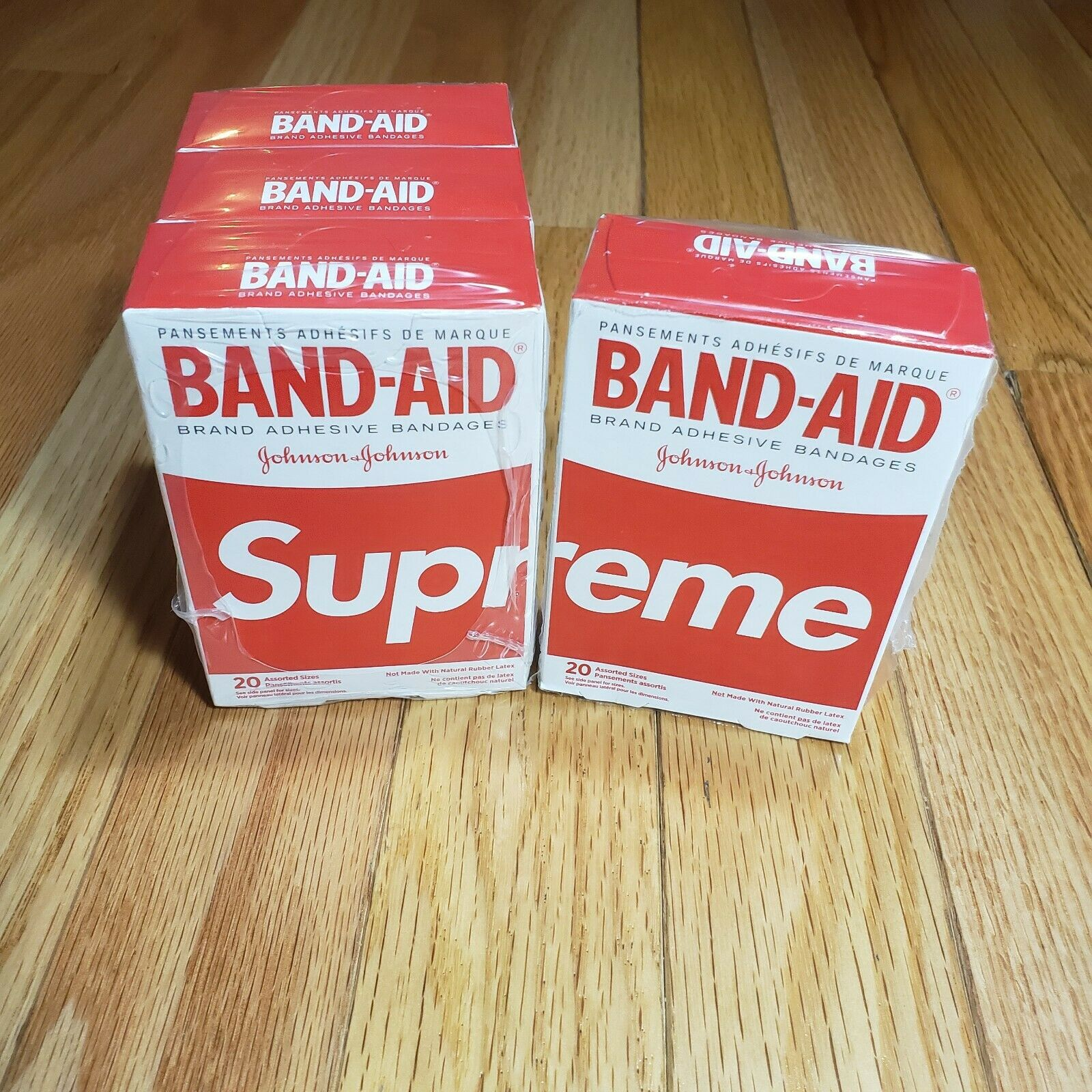 Free Shipping! Supreme BAND-AID *1 Single Band-Aid* SS19
