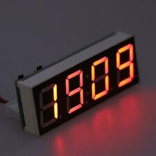 12v 5 24v Electronic Voltmeter Thermometer Clock For Car Auto Led Monitor Module