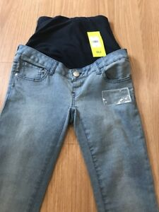 bbdb28f4d7197 Image is loading Mothercare-Maternity-Jeans-Size-8R-Skinny-Super-Stretchy-