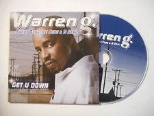 WARREN G. feat. SNOOP DOGG, ICE CUBE & B REAL : GET U DOWN ♦ CD SINGLE ♦