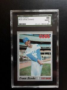 1970-Topps-Ernie-Banks-630-Sgc-88-8-SP-Hi-Number-Low-Pop-Chicago-Cubs-blazer