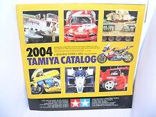 TAMIYA CATALOGO EDICION 2004 ENGLISH/SPANISH  NUEVO  107  PAGINAS