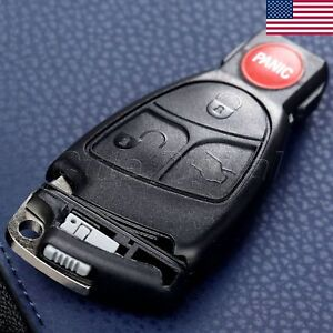 Details about Key Shell Case Fob for Mercedes-Benz CL500 E320 SL500 3+1 CL  BTN Replacement US