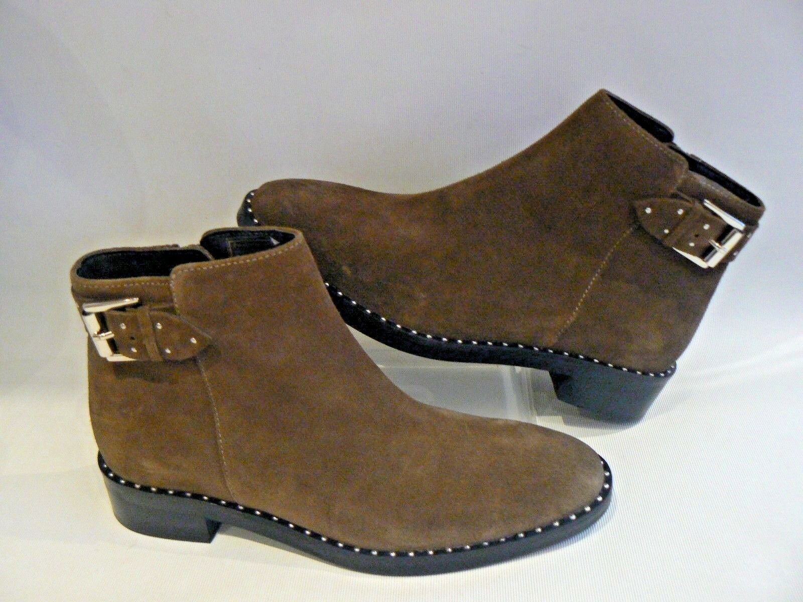 MARKS & SPENCER Suede Ankle Boots Insoila UK Size 4.5 - 7.5 NEW