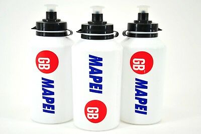 Cycling NOS vintage,Mapei GB Cycling Team Water Bottle Polisport