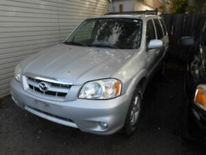 2006 Mazda Tribute 4dr 2.3L Auto GX 4 CYLINDER AS-IS DEAL