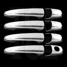FOR FORD FLEX 2009 2010 2011 CHROME 4 DOOR HANDLE COVERS W/O PSG KH 09 10 11 4DR