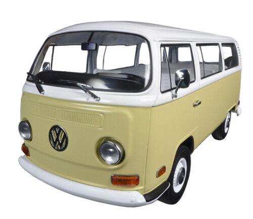 1971 VOLKSWAGEN Type 2 Bus (T2B) Jaune 1 18 Diecast voiture modèle par vertlight