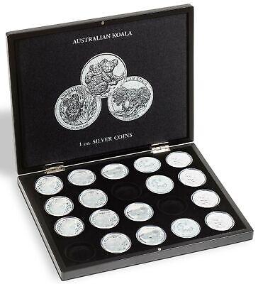 Morgan Silver Dollar Presentation Case Display for 20 US Coins Collection FeeeSH