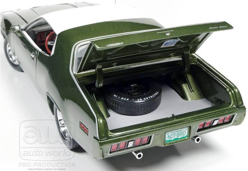 1971 Plymouth Satellite Grün 1 18 Car World 1092