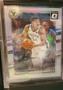 Giannis-Antetokounmpo-2017-18-Donruss-Optic-Silver-Prizm-Holo-81-BUCKS-RARE-SP