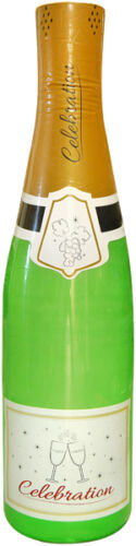 15x INFLATABLE CELEBRATION BOTTLE PARTY 73CM