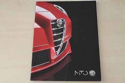 Alfa Romeo Mito Prospekt 07/2012 Halten Sie Die Ganze Zeit Fit Zeitschriften 172001