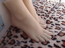 Top Quality Silicone Unique Russia Female Feet Display Model Shoes Socks