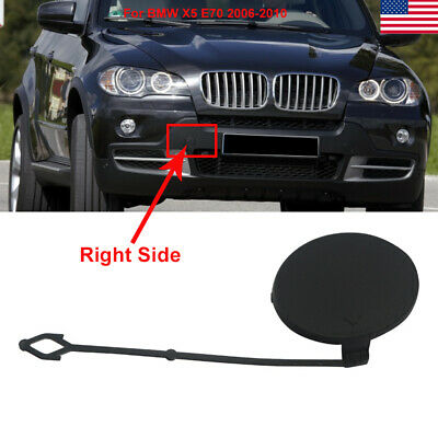 Passenger Set Front Bumper Grill Tow Eye Hook Cover Cap Fit BMW X5 E70 Driver