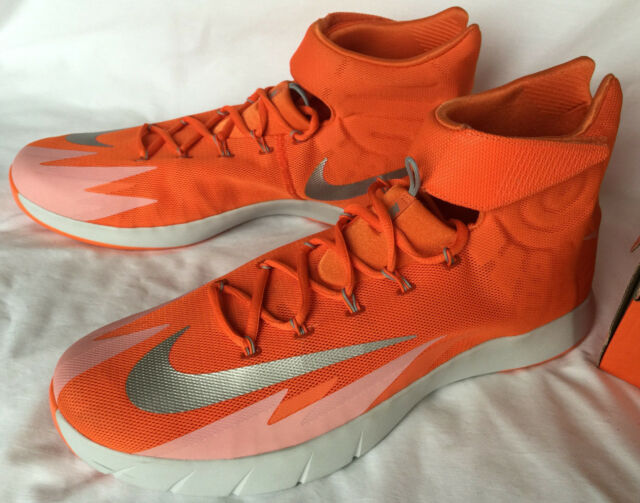 33f84707d3562 ... sweden nike zoom hyperrev 643301 801 orange silver basketball shoes  mens 17 ncaa new 04ac0 7df16
