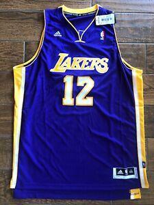 Adidas Swingman NBA Jersey Lakers Dwight Howard Purple sz 2X   eBay