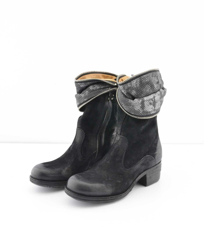 A.S.98 Damen Stiefel Stiefeletten Echt Leder EU 35 Stiefel Echt Leder