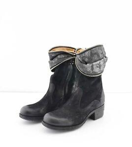check out bd40c f51bc Details zu A.S.98 Damen Stiefel Stiefeletten Echt Leder EU 35 Boots Echt  Leder