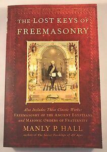 New-Freemason-Masonic-The-Lost-Keys-Of-Freemasonry-Book