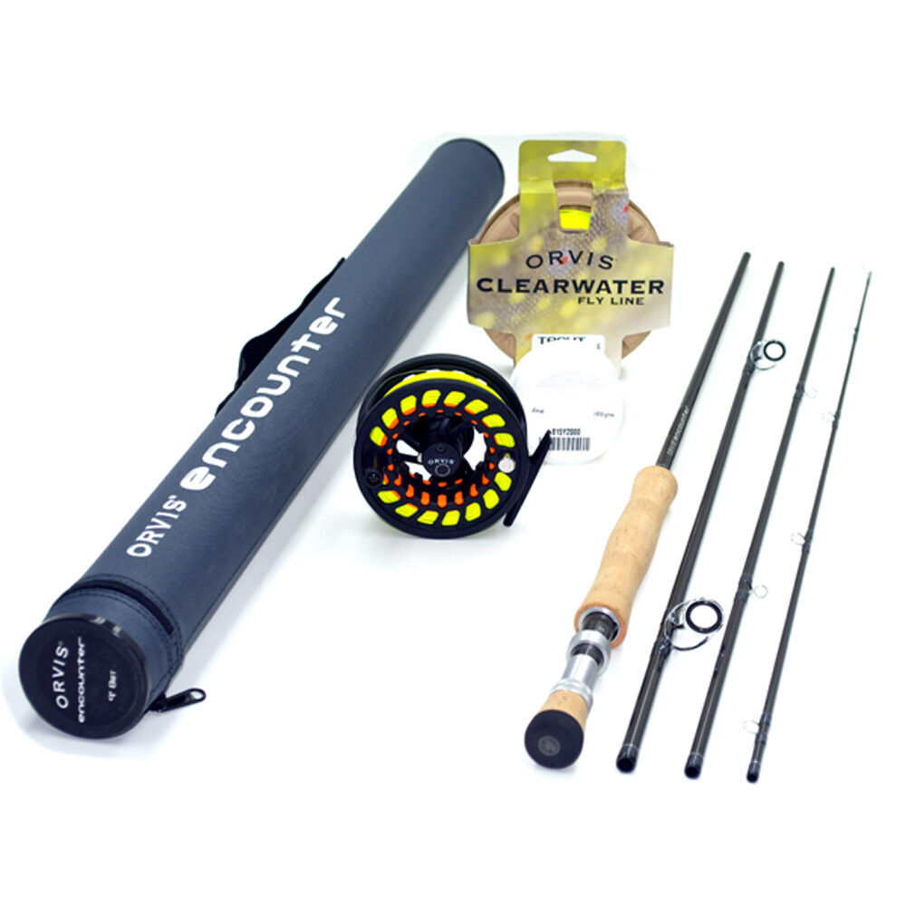 Orvis Encounter 908-4 Fly Rod Outfit   9'0  8wt