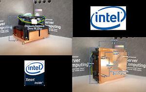 Details about Socket LGA771 1U Heatsink + Active Fan for Intel Xeon  5000-5100-5300 Series New