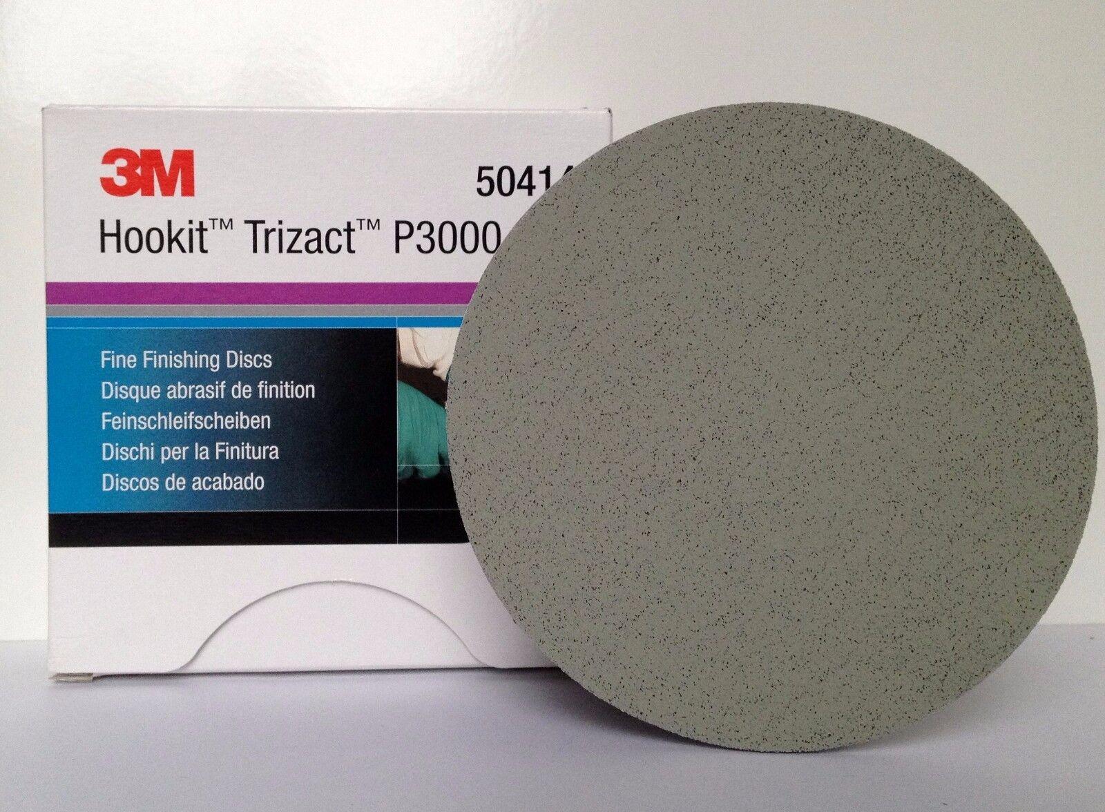 Dischi per finitura 150mm 3M 50414 Hookit Trizact P3000 confezione da 15 pezzi