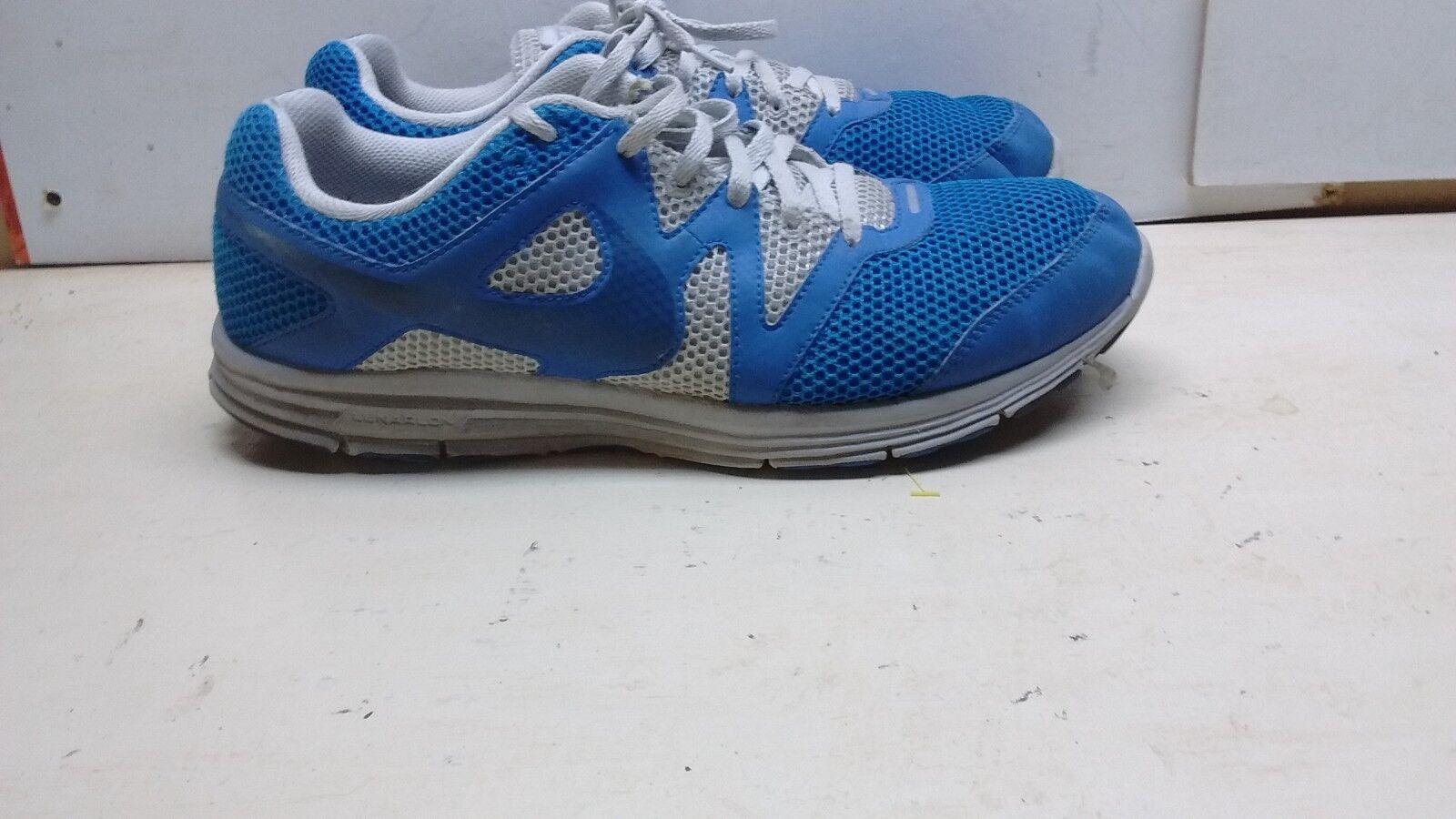 NIKE Lunar Fly Hommes 3 Hommes Fly Bleu/blanc Athletic Walking Sporting Sneaker Chaussures 12M 46 fe5ef2