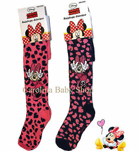NEW-official-DISNEY-girls-Minnie-Mouse-tights-2-3-4-5-6-7-8-years