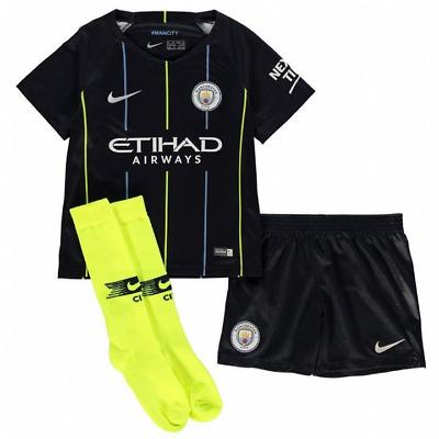 promo code ae990 ecfce Nike Manchester City Away Kit 2018/19 - Little Kids   eBay
