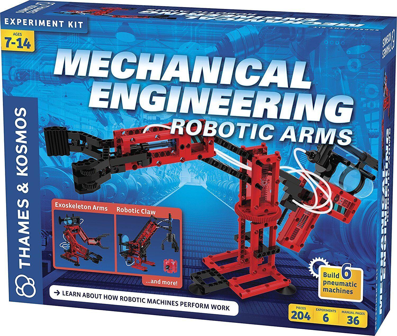 Thames & Kosmos 625415 Mechanical Engineering Robotic Arms
